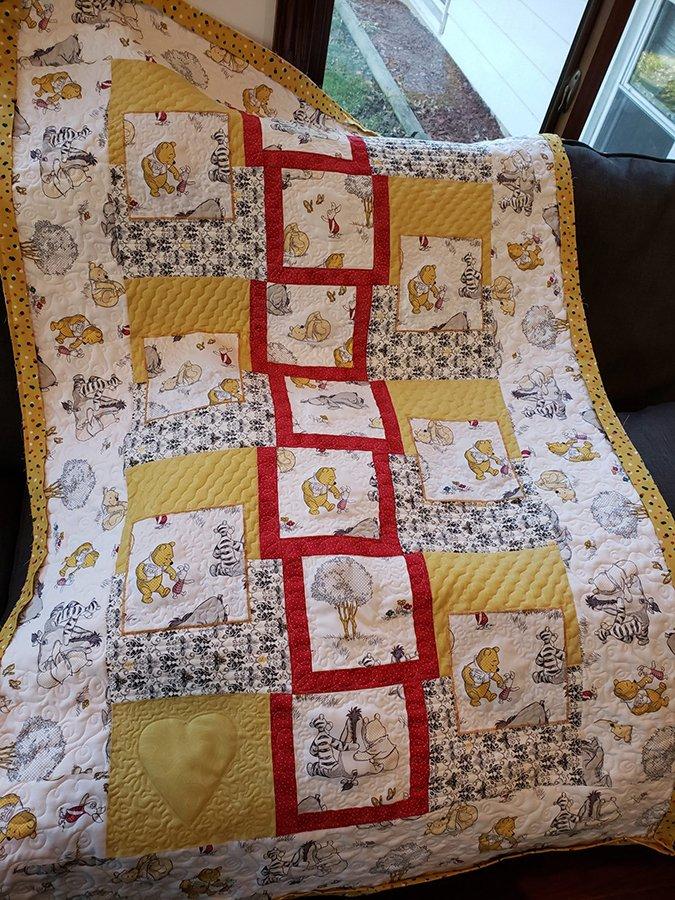 Winnie the Pooh Quilt